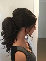 ponytail formal hair wedding inspiration pinterest formal
