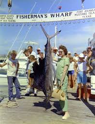 fishing guides port aransas fisherman u0027s wharf in port aransas texas ca 1960s vintage everyday