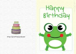 frog themed birthday ecards u0026 greeting card sample momecard