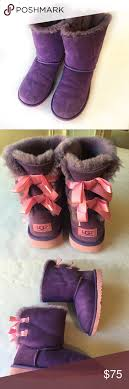 light purple bailey bow uggs ugg purple bailey bow boots bow boots pink shorts and baileys