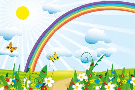 rainbow wallpaper for kids room u2013 home decoration