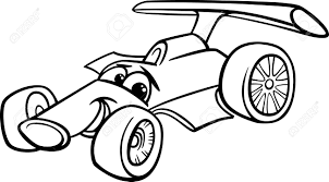 cartoon car drawing race car clipart funny pencil and in color race car clipart funny
