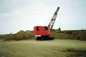 old link belt dragline construction equipment pinterest