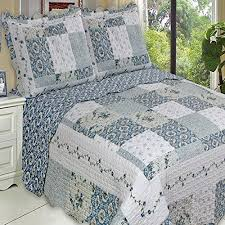Blue Quilted Coverlet 445 Best French Country Bedding Images On Pinterest French