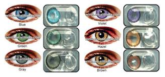 eclipse korea tri color contact lens soft yearly wholesale colored