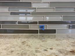 How Do You Install Glass Tile Backsplash by Glass Mosaic Tile A Mess Please Help