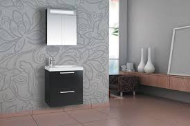 ikea floating bathroom vanity using kitchen cabinets modern