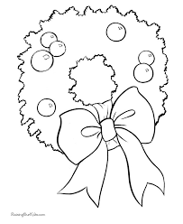 21 wreaths images christmas wreaths coloring