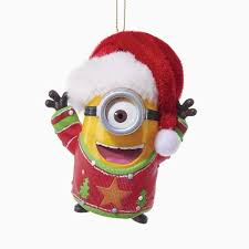 despicable me battery operated minion lights and sound ornaments