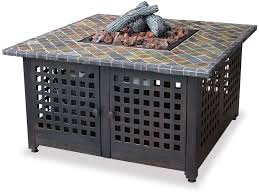 Rectangle Fire Pit Table Top Ten Best Gas Fire Pit Tables