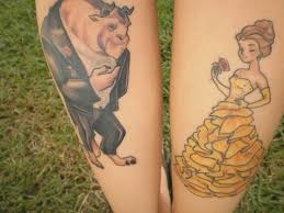 47 best beauty and the beast images on pinterest disney tattoos