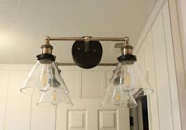Bathroom Wall Lights For Mirrors How To Mount A Light On Top Of A Mirror Bathroom Vanity