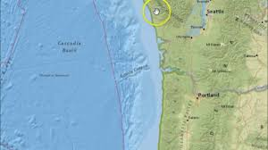 Oregon Earthquake Map by Earthquake M4 8 M4 3 Off The Coast Of Brookings Oregon And