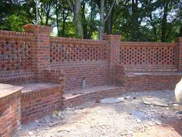 Garden Brick Wall Design Ideas Brick Fence Designs Ideas Internetunblock Us Internetunblock Us