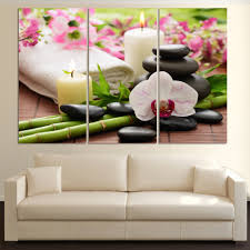 aliexpress com buy 3 rectangular canvas painting wall stickers aliexpress com buy 3 rectangular canvas painting wall stickers home decoration butterfly orchid digital pictures free shipping frameless h076 from
