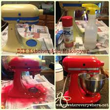 Kitchen Aid Mixer Sale by Diy Makeover Tutorial Vintage Kitchenaid Stand Mixer Water