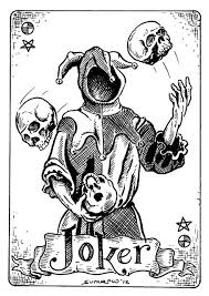 tatouage batman double face et joker tatouage by punky