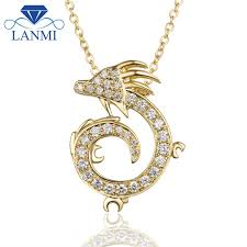 yellow diamond necklace pendants images New diamond necklace pendant china dragon shape 18k yellow gold jpg
