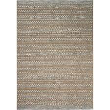 Coastal Indoor Outdoor Rugs Shop Orian Rugs Isle Sky Beige Indoor Outdoor Coastal Area Rug