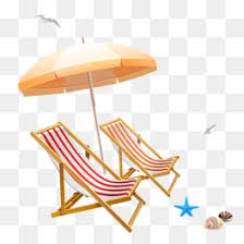 Beach Umbrella And Chairs Beach Umbrellas And Chairs Sandy Beach Sun Umbrella Png Image