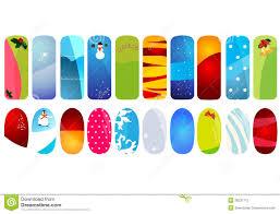 nail stickers royalty free stock photos image 35487058