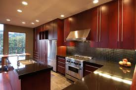 Granite With Cherry Cabinets In Kitchens Innovative Verde San Francisco Granite In Kitchen Contemporary