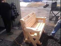 Free Woodworking Plans Folding Picnic Table by Folding Picnic Table To Bench Seat Free Plans How Awesome Is