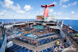 lido deck on carnival sunshine cruise ship cruise critic