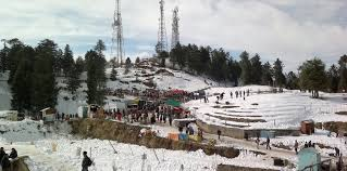 18 great places to see snow falls in india tour my india