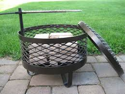 Firepit On Wheels Pit Movable Pits Wheels Portable Movable Pit Ideas