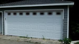 Chicago Overhead Door by Hormann 16x7 Garage Door Model 3200 W Prarie Glass Woodridge Il
