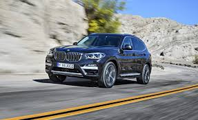 luxury bmw 2018 bmw x3 official photos and info news car and driver