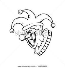 coloring pages of scary clowns image result for scary clown drawing coloring pages pinterest