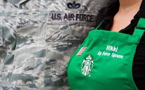 starbucks hires 5 500 veterans and military spouses starbucks