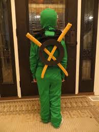 Lego Ninjago Halloween Costumes Golden Weapons Stored Backpack Lloyd U0027s