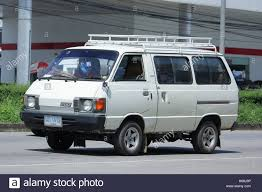 van toyota chiangmai thailand october 8 2016 old toyota liteace private