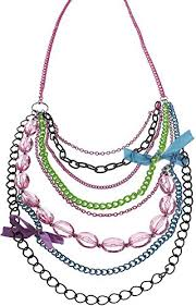 pink chain necklace images 80s jewelry earrings necklaces bracelets 80sfashion clothing jpg