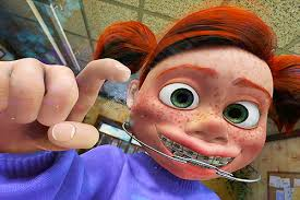 Braces Girl Meme - finding nemo braces gif find share on giphy