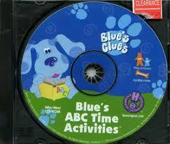 110 3492 blue u0027s clues blue u0027s abc time activities video game