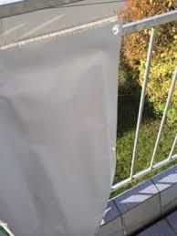 balkon sichtschutz grau estexo pvc balkon sichtschutz 6mx0 90m grau in bayern bindlach