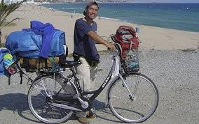 Blind Man Rides Bike Man Bikes Around The World With 2 In Pocket U2013 Intelligent Travel