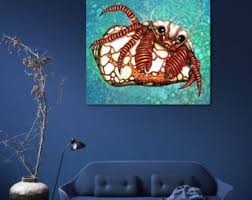 Crab Decorations For Home Steampunk Crab Etsy