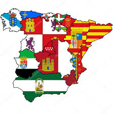 Map Of Spain Regions by Administration Map Of Spain U2014 Stock Photo Michal812 15651373
