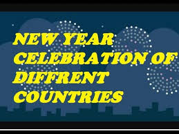 new year celebration of different countries