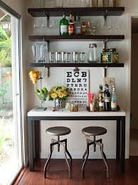 Wonderful Small Space Bar For Decorating Spaces Plans Free Family Room