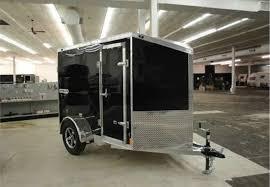 Cargo Trailer Awning Aluminum Enclosed 5 U0027 X 8 U0027 W Wedge Nose Cargo Trailer Advantage