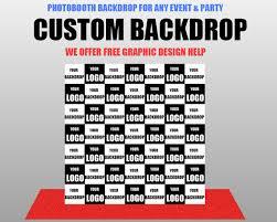 custom photo backdrop custom step and repeat vinyl photography backdrop custom