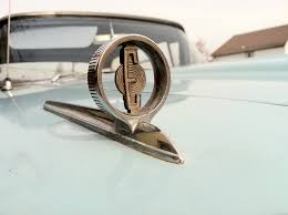 1959 edsel pacer ordament car scripts badges