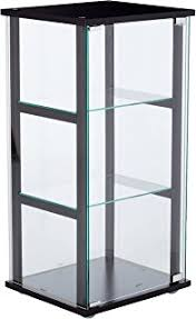 Modern Curio Cabinets Amazon Com Coaster Modern Contemporary Glass Curio Cabinet With
