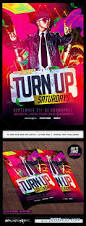 turn up flyer template psd 7951864 free download photoshop